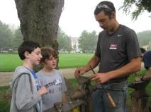Boys and Blacksmith